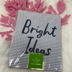 kate spade Office - Kate Spade Bright Ideas Stripe Spiral Notebook